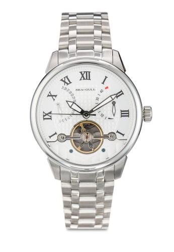 816.425 ST2504 41mm 羅馬數字不銹鋼機械鍊錶esprit 寢具, 錶類, 飾品配件