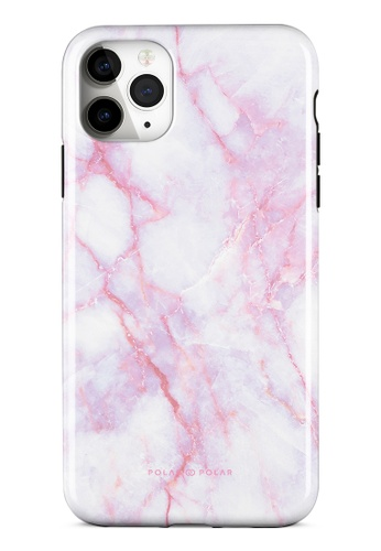 Polar Polar pink Pink White Dual-Layer Tough Case Glossy For iPhone 11 Pro Max 00469AC4614D6BGS_1