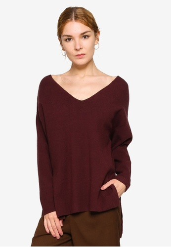LOWRYS FARM brown Casual Pullover E4DFCAA9002A9EGS_1