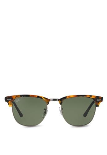 f79eaf8923f Ray-Ban black Clubmaster Fleck RB3016 Sunglasses RA370GL82EBTSG 1