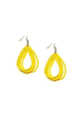 ACEXSPADE yellow Happy Beach Earrings – Yellow 19252AC80E4CCBGS_1