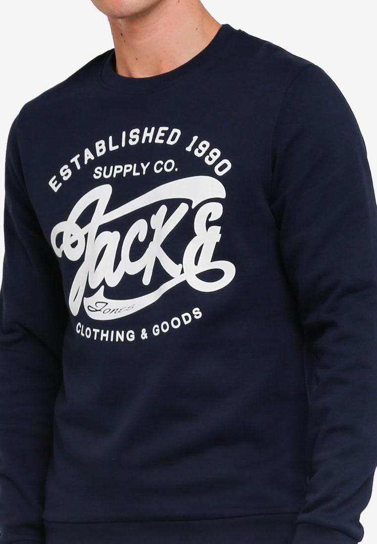 amp; Slim Jones Neck Total Jack Crew Eclipse Logo Sweater qWwIx87ZqX