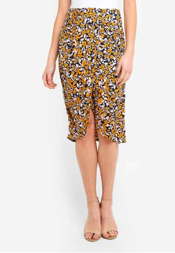 Vero Moda multi Billia Knee Skirt 239A6AA651B5E0GS_1