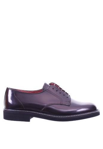 HARUTA brown Lace-Up Shoes-370 D2628SH511899FGS_1