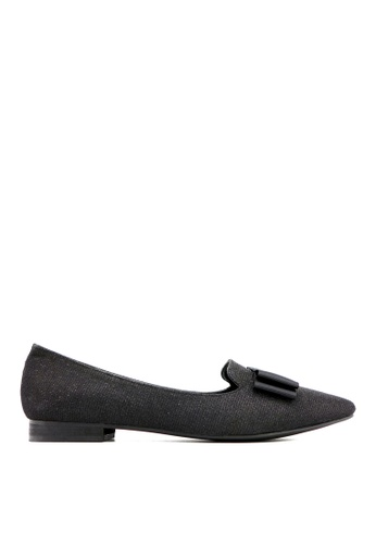 Carlo Rino black Carlo Rino 333020-258-08 Pointed Toe Flats (Black) EBC9BSH99A427DGS_1