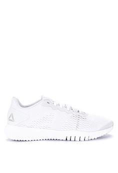 huge discount 361b9 16ec8 Reebok white Reebok Flexagon Training Shoes F3AB0SHFDF6772GS 1