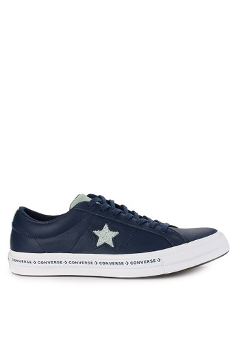 Converse navy One Star C77CFSH01AA348GS_1