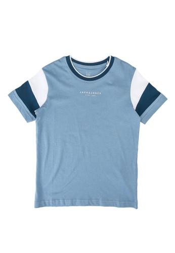 Jack & Jones blue Donda Tee 83981KA61DF35DGS_1