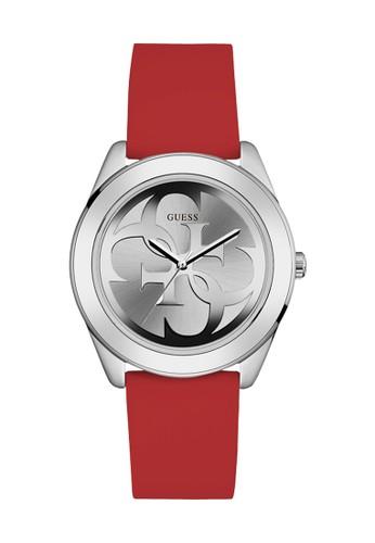 Guess Watch red Guess Jam Tangan Wanita - Red Silver - Rubber - W0911L9 44F50AC597C4B1GS_1