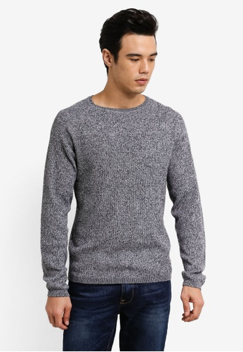 Selected Homme grey Raglan Pullover SE364AA0RB59MY_1