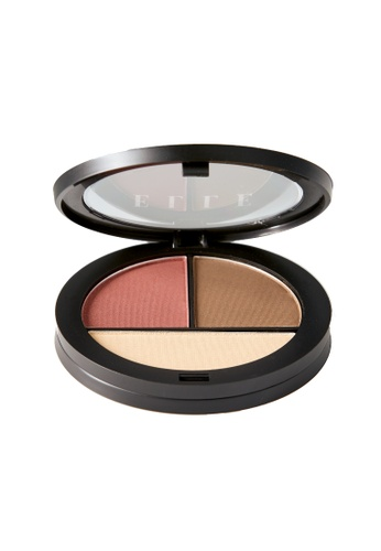 ELLE brown and multi and beige ELLE Makeup Eye Shadow Pallette Mauve 688C4BE6098B7AGS_1
