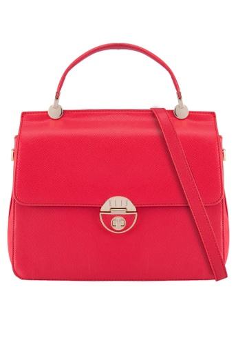 ELLE red Amber 4 Top Handle Bag EL900AC87WUAMY_1