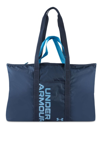 Under Armour blue UA Women's Metallic Favorite 2.0 Tote Bag 9688EAC6552A0EGS_1