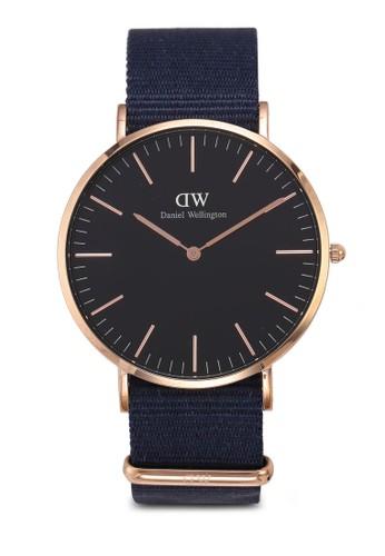 Daniel Wellington gold Classic Bayswater Black Watch 40mm E8A24AC84BDA62GS_1