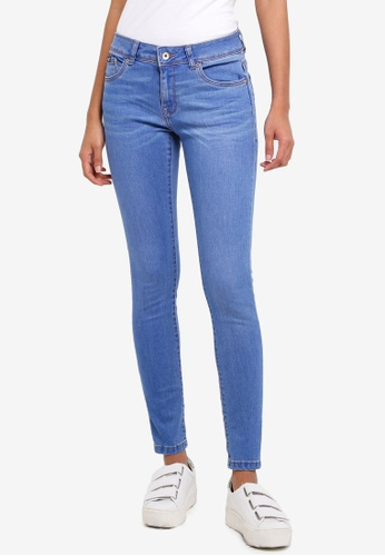 Superdry blue Cassie Skinny Jeans A84D0AAE6B7B42GS_1