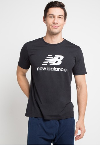 New Balance black Essentials Tee 8A207AACD452EEGS_1
