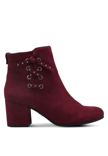Circus by Sam Edelman red Vinnie Boots C6025SH70E896FGS_1