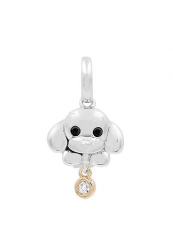 JEOEL silver JEOEL Diamond Puppy Pendant 174EDAC9B3B82EGS_1
