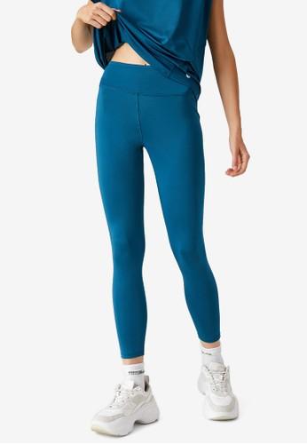 KOTON blue Casual Leggings AC6E6AAEB7BA4FGS_1