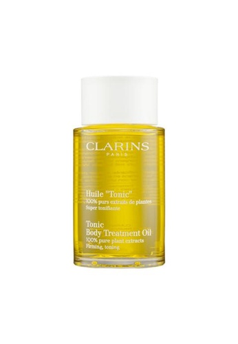 "Clarins Clarins Huile ""Tonic"" Body Treatment Oil 100ml DB85DBE4B2196AGS_1"