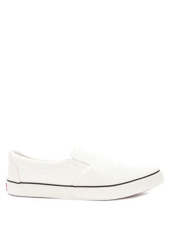 H2Ocean white Plain Sneakers Slip on Snekaers 8A3F0SH391CD65GS_1