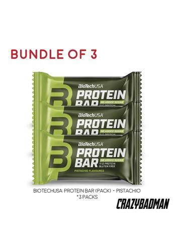 BioTechUSA [Bundle of 3] Protein Bar - Pistachio 35g 40F79ES317D821GS_1