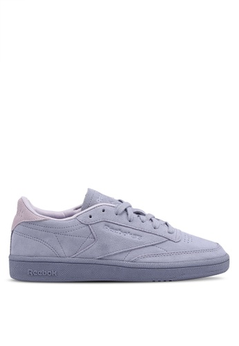 Reebok purple Club C 85 NBK Shoes RE691SH0SW2GMY_1
