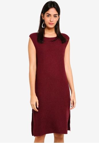 Max Studio purple Woven Sleeveless Dress A97EBAA3939C9EGS_1