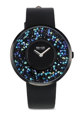 SO&CO black Soho Watch 5223 SO540AC0SHNBMY_1