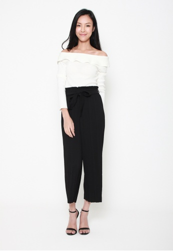 6d09780862efb Buy Sophialuv Knit Wasn t Me Off The Shoulder Top in White Online on ZALORA  Singapore
