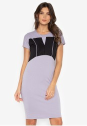 D Fashion Engineer grey Jingky Bodycon Dress 34421AAD12C088GS_1