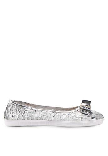Mandy's silver Ballerina Silver Flats MA947SH21DZYID_1