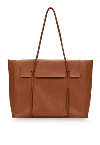 KWANI brown Norah Bag Medium Camel 386BBAC734E5B8GS_1