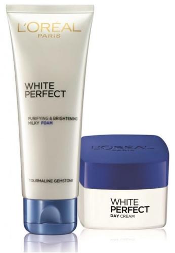 L'Oréal Paris L'Oreal Paris White Perfect Skincare Set (Cleanse & Moisturize) LO618BE22VMBMY_1