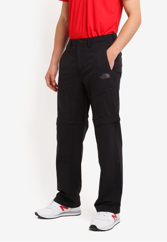 The North Face black TNF M TAGGART CONVERTIBLE PANT - AP TNF BLACK TH879AA0FM6ISG_1