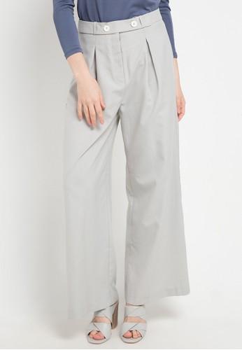 OMARA grey Sabrina Pants 53813AA03482D8GS_1