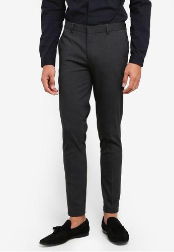 River Island grey Super Skinny Smart Trousers C0661AA0567BE5GS_1