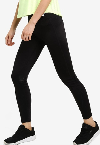 Cotton On Body black Fleece Lined Tights 736A3AACA187FEGS_1