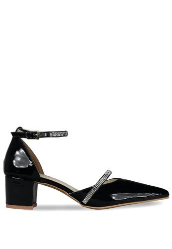 CLAYMORE black Claymore Mid Low Heels  MZ - 1725 - Black CL635SH0ULRDID_1