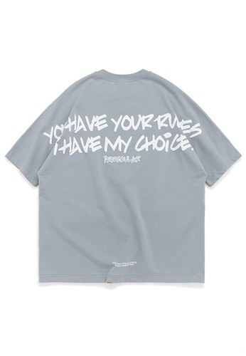 Twenty Eight Shoes Oversize Printed T-Shirts 1124S20 AAD18AA56CC54FGS_1