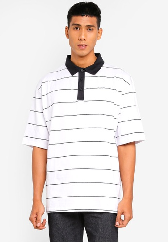 Cotton On 白色 Oversized 短袖POLO衫 C49DAAA5825968GS_1