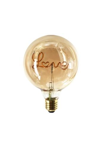 Klosh KLOSH Zogi Mula LED Word Bulb - Love (Bulb only) 02450ES4090F1AGS_1