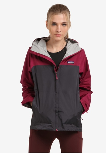 Patagonia pink and purple Torrentshell Jacket PA549AA0RQDRMY_1