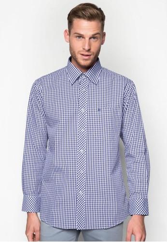 迷你esprit 香港格紋長袖襯衫, 服飾, 襯衫