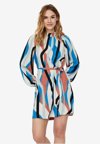 Vero Moda blue Molly Short Dress 5A8D1AAD808CB8GS_1