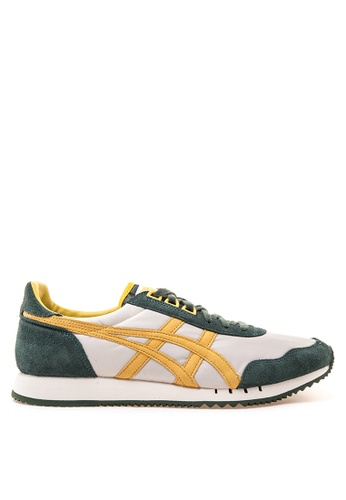 Onitsuka Tiger white and brown Dualio Lace-up Sneakers ON625SH22YVTPH_1