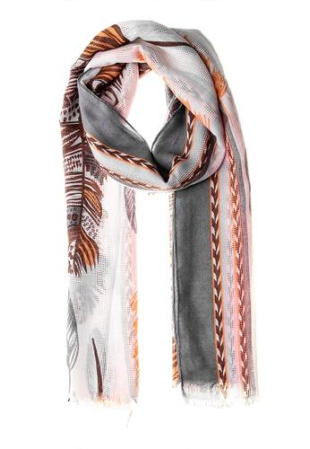 Irene multi Ayla Scarf - Feather 16270ACFF6E4D3GS_1