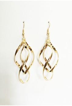 Spiral Dangling Earrings