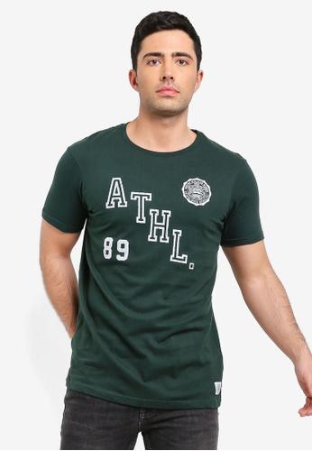 Cotton On 綠色 短袖印花T恤 C0DD7AA6C7C09BGS_1