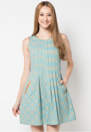 CHANIRA blue Melda Dress CH930AA40VSXID_1